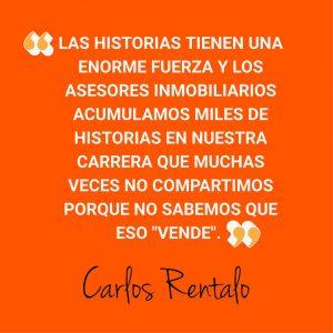 Carlos Rentalo storytelling inmobiliario