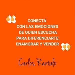 Carlos Rentalo storytelling